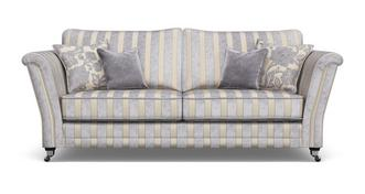 Hogarth Striped 4 Seater Sofa