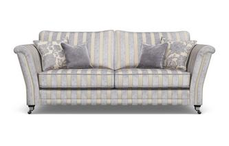 Striped 4 Seater Sofa Hogarth Stripe