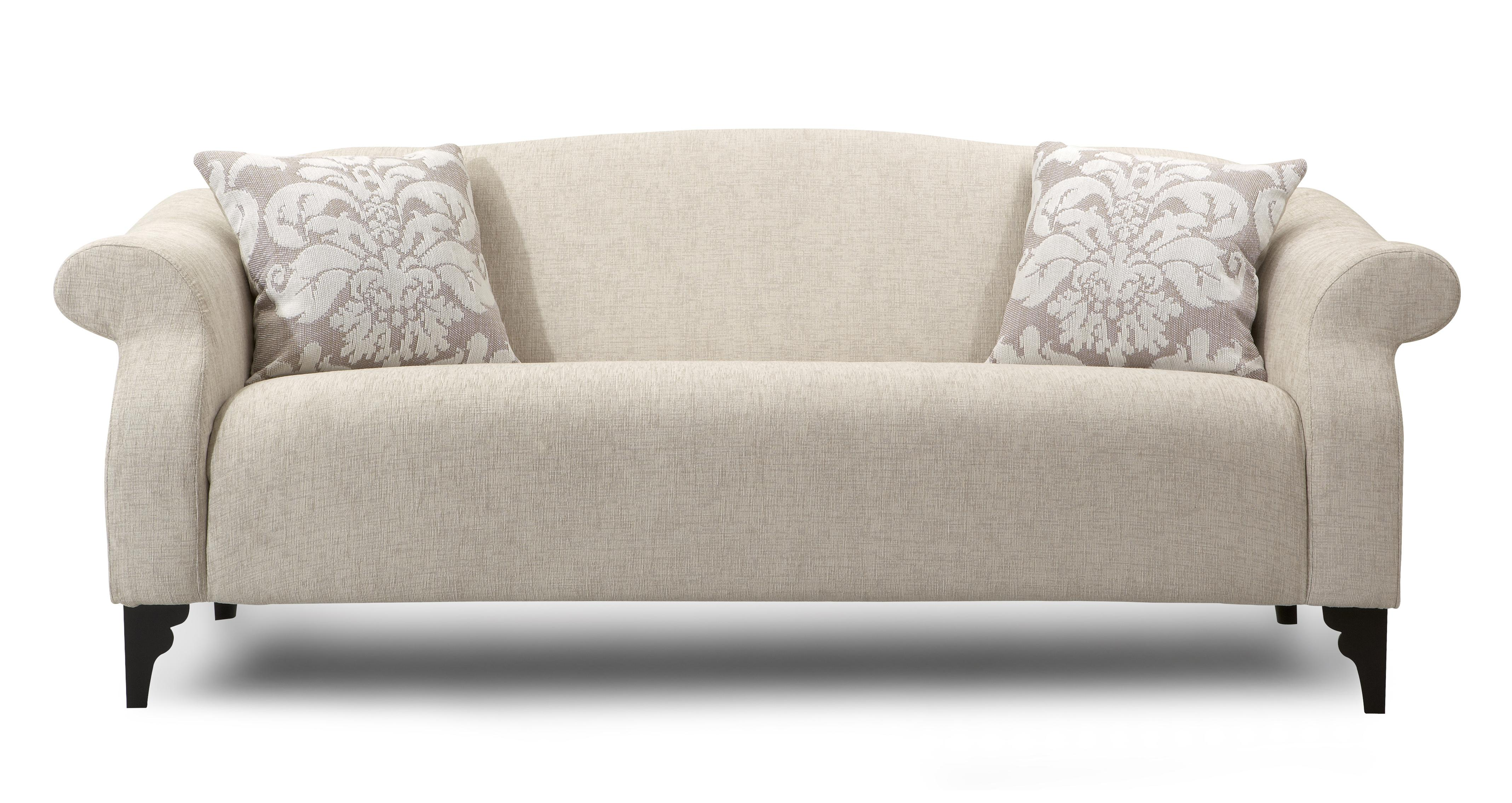 dfs icon set large fabric sofa including chaise chair foot