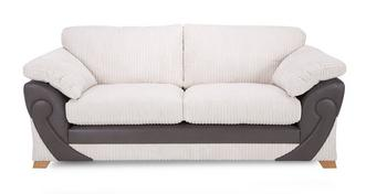 Illusion 2 Seater Formal Back Sofa