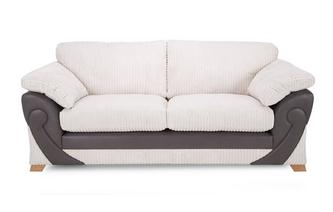 2 Seater Formal Back Sofa Illusion
