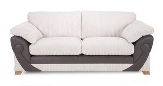 Illusion 2 Seater Formal Back Deluxe Sofabed