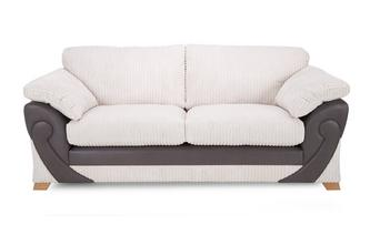 2 Seater Formal Back Deluxe Sofabed Illusion