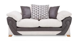 Illusion 2 Seater Pillow Back Deluxe Sofabed