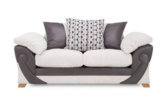 2 Seater Pillow Back Deluxe Sofabed Illusion