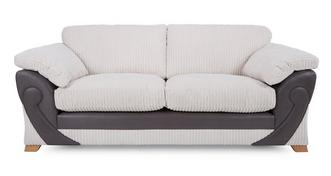Illusion 3 Seater Formal Back Sofa