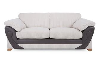 3 Seater Formal Back Sofa Illusion