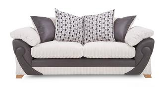 Illusion 3 Seater Pillow Back Sofa