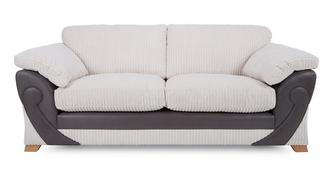 Illusion 3 Seater Formal Back Deluxe Sofabed