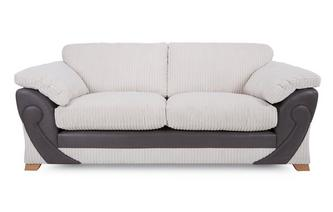 3 Seater Formal Back Deluxe Sofabed Illusion