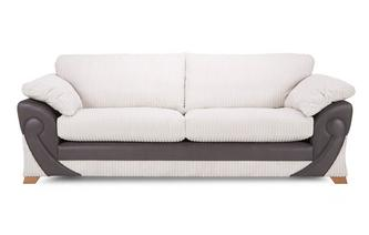 4 Seater Formal Back Sofa Illusion