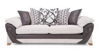 Illusion 4 Seater Pillow Back Sofa