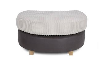 Half Moon Footstool Illusion