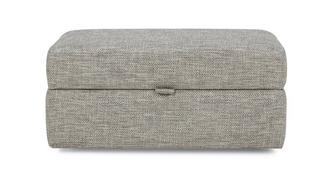 Image Rectangular Storage Footstool