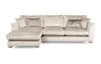 Left Hand Facing Chaise End Sofa Imperial Crush