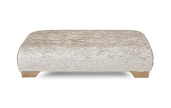 Rectangular Footstool Imperial Crush