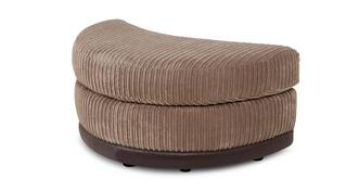 Inception Half Moon Footstool