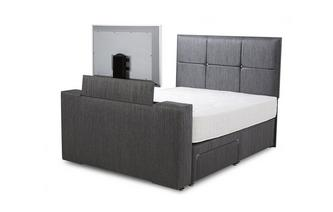 Double (4ft 6) 2 Drawer TV Bed Inspire