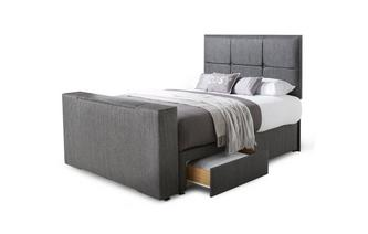 King (5 ft) 2 Drawer TV Bed