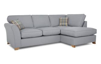 Left Arm Facing Formal Back Corner Deluxe Sofa Bed