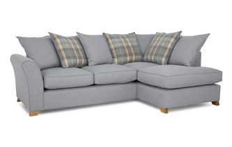 Left Arm Facing Pillow Back Corner Deluxe Sofa Bed