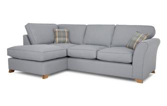 Right Arm Facing Formal Back Corner Deluxe Sofa Bed