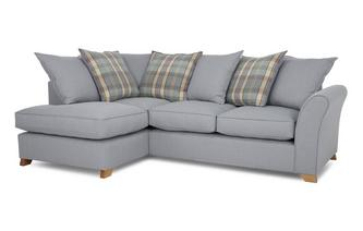 Right Arm Facing Pillow Back Corner Deluxe Sofa Bed