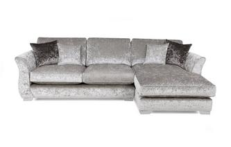 Right Hand Facing Chaise End Sofa Imperial Crush