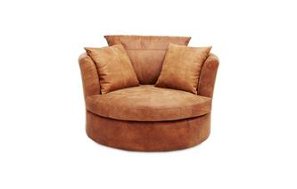 Large Swivel Chair Saddle