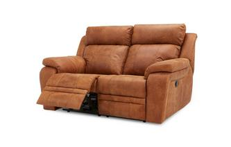 2 Seater Manual Recliner Saddle