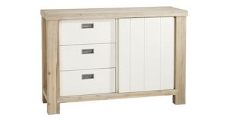 Juliette Small Sideboard with 1 Door & 3 Drawers