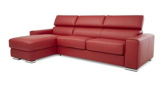 Kalamos Left Hand Facing 3 Seater Storage Chaise Sofabed