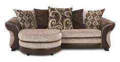 Karma 4 Seater Pillow Back Lounger Sofa Karma