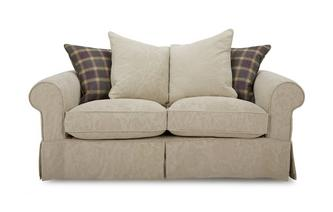 Pattern and Plaid Pillow Back Medium Sofa Kendal Pattern