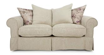 Kendal Pattern and Floral Pillow Back Medium Sofa