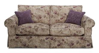 Kendal Floral Formal Back Large Sofa