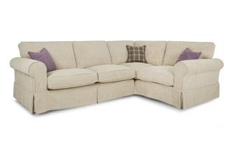 Left Hand Facing Pattern Formal Back 3 Seater Corner Group