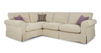 Kendal Right Hand Facing Pattern Formal Back 3 Seater Corner Group