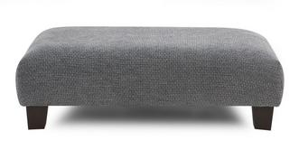 Kenya Plain Rectangular Footstool