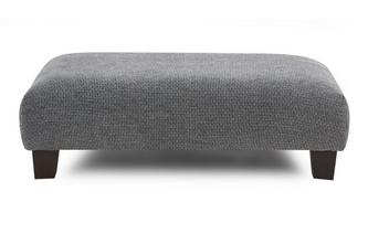 Plain Rectangular Footstool Kenya