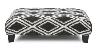 Kenya Diamond Rectangular Footstool