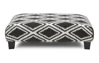 Diamond Rectangular Footstool Kenya