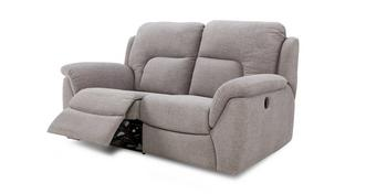 Kingston 2 Seater Manual Recliner
