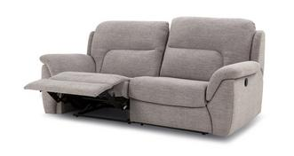 Kingston 3 Seater Manual Recliner