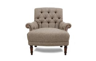 Kintyre Accent Chair Harris Tweed