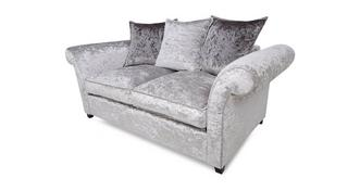 Krystal 2 Seater Pillow Back Deluxe Sofabed