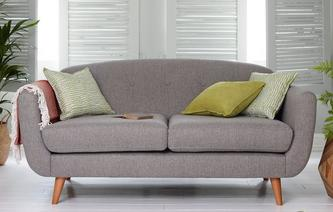 Laze Large Sofa Herringbone