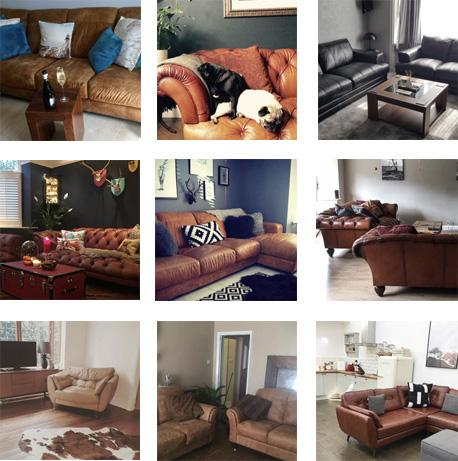 9 Leather Sofas Gallery images left