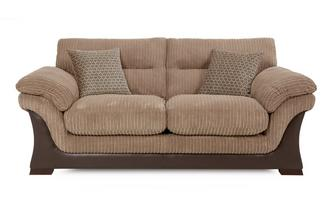 Large 2 Seater Sofa Bed Wyndham Rib