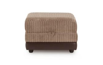 Storage Footstool Wyndham Rib